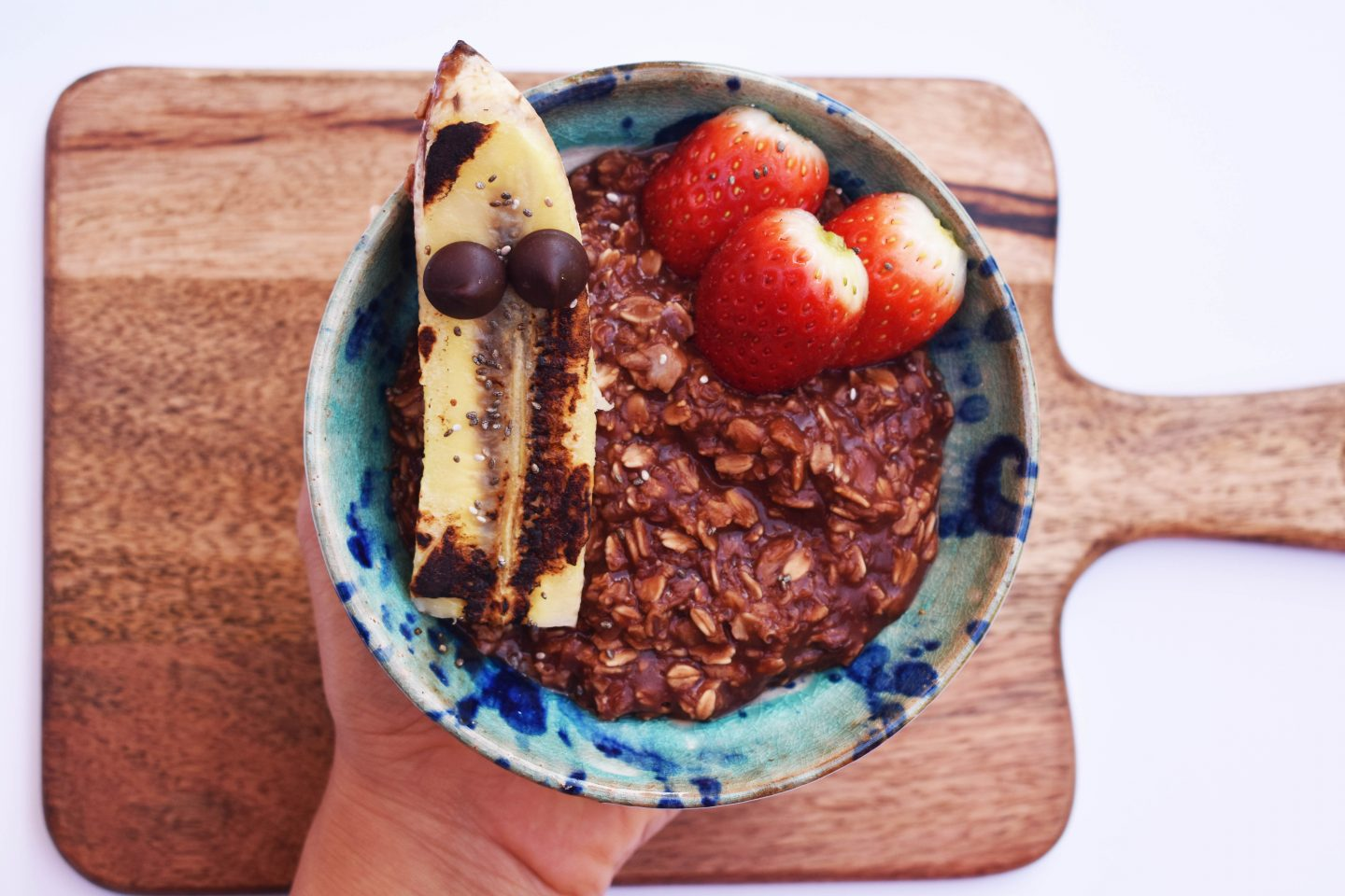 Warm Chocolate Oatmeal